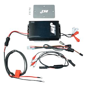 J&M Performance Series 360W 4 Channel Amp Kit For Harley Road Glide 2015-2018