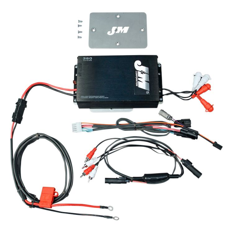 Jm Performance Series 360w 4 Channel Amp Kit For Harley Road Glide 2015 2019