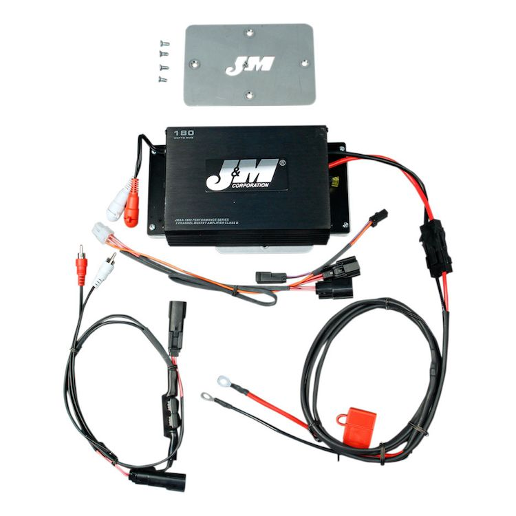 Jm Performance Series 180w 2 Channel Amp Kit For Harley Road Glide 2015 2019