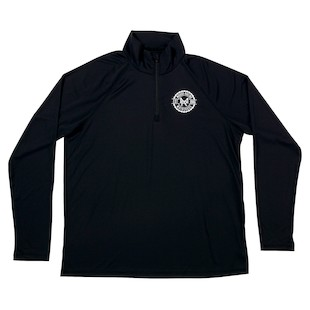 Moose Racing Insignia Quarter Zip Shirt