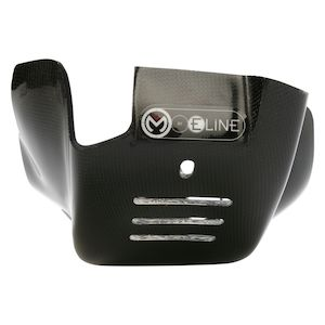 Moose Racing Carbon Fiber Skid Plate