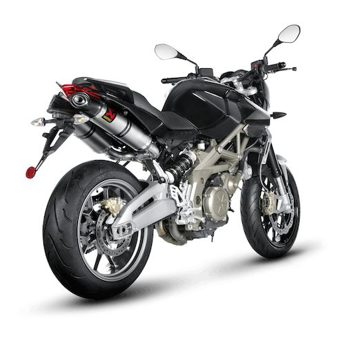 akrapovic slip on exhaust aprilia shiver 750 gt revzilla. Black Bedroom Furniture Sets. Home Design Ideas