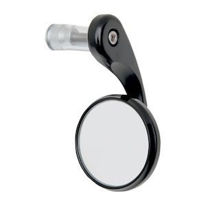 Todd's Cycle Bar End Shooter Mirror Right Side / Black [Open Box]