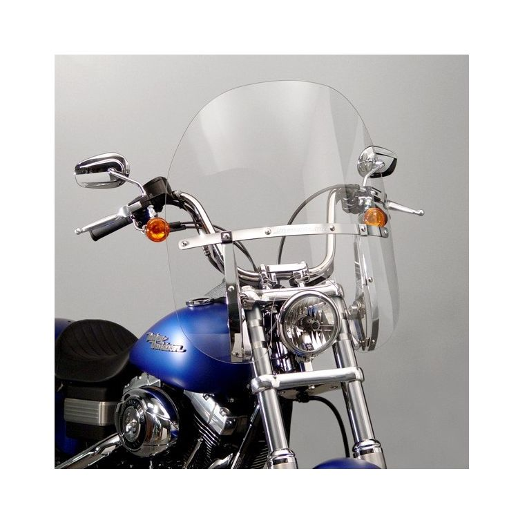 National Cycle SwitchBlade 2-Up Windshield For Harley Softail / Dyna 2006-2017