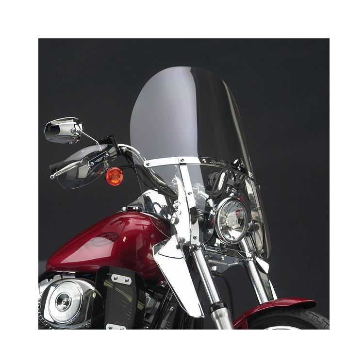 National Cycle SwitchBlade 2-Up Windshield For Harley Dyna Wide Glide 2006-2017