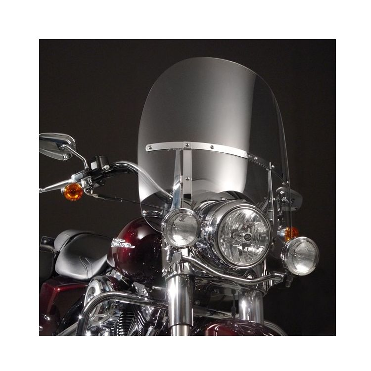 National Cycle SwitchBlade 2-Up Windshield For Harley Road King 1994-2019