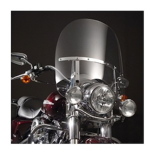 National Cycle SwitchBlade 2-Up Windshield For Harley Road King 1994-2018