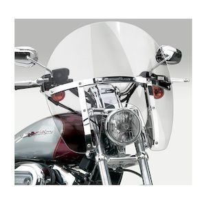 National Cycle SwitchBlade Chopped Windshield For Harley Dyna / Sportster 1988-2018