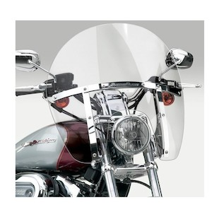 National Cycle SwitchBlade Chopped Windshield For Harley Dyna / Sportster 1988-2017