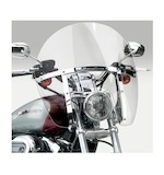 National Cycle SwitchBlade Chopped Windshield For Harley Dyna And Sportster 1988-2016