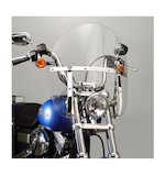 National Cycle SwitchBlade Chopped Windshield For Harley Softail / Dyna 2006-2016