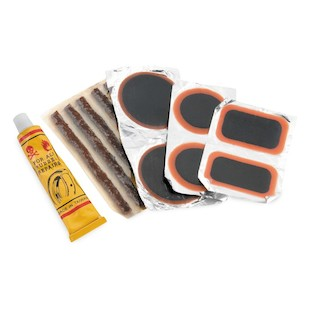 Bike Master Tire & Tube Patch & Plug Replacement Kit