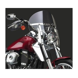 National Cycle SwitchBlade Chopped Windshield For Harley Softail / Dyna 1980-2012