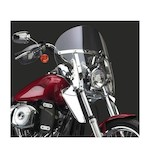 National Cycle SwitchBlade Chopped Windshield For Harley Softail And Dyna 1980-2012