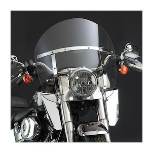 National Cycle SwitchBlade Chopped Windshield For Harley Softail 1986-2017