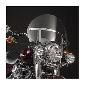 National Cycle SwitchBlade Chopped Windshield For Harley Road King 1994-2018