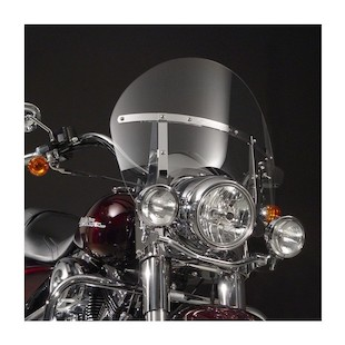 National Cycle SwitchBlade Chopped Windshield For Harley Road King 1994-2017