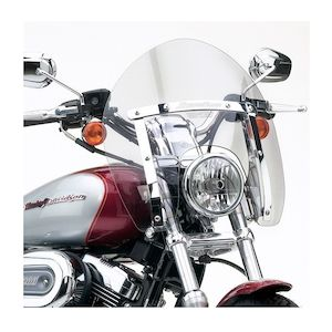 National Cycle SwitchBlade Shorty Windshield For Harley Dyna / Sportster 1988-2018