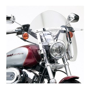 National Cycle SwitchBlade Shorty Windshield For Harley Dyna / Sportster 1988-2017