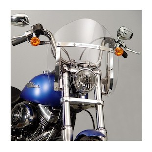 National Cycle SwitchBlade Shorty Windshield For Harley Softail / Dyna 2006-2017