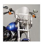 National Cycle SwitchBlade Shorty Windshield For Harley Softail And Dyna 2006-2015