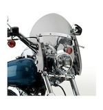 National Cycle SwitchBlade Shorty Windshield For Harley Softail And Dyna 1980-2012
