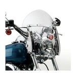 National Cycle SwitchBlade Shorty Windshield For Harley Dyna Wide Glide 2006-2017