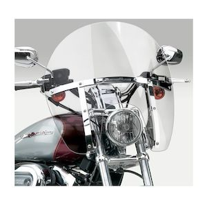 National Cycle SwitchBlade Chopped Windshield For Harley