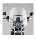 National Cycle Spartan Windshield For Harley Dyna And Sportster 1988-2016