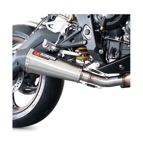 scorpion serket taper slip-on exhaust triumph daytona 675 / r 2013