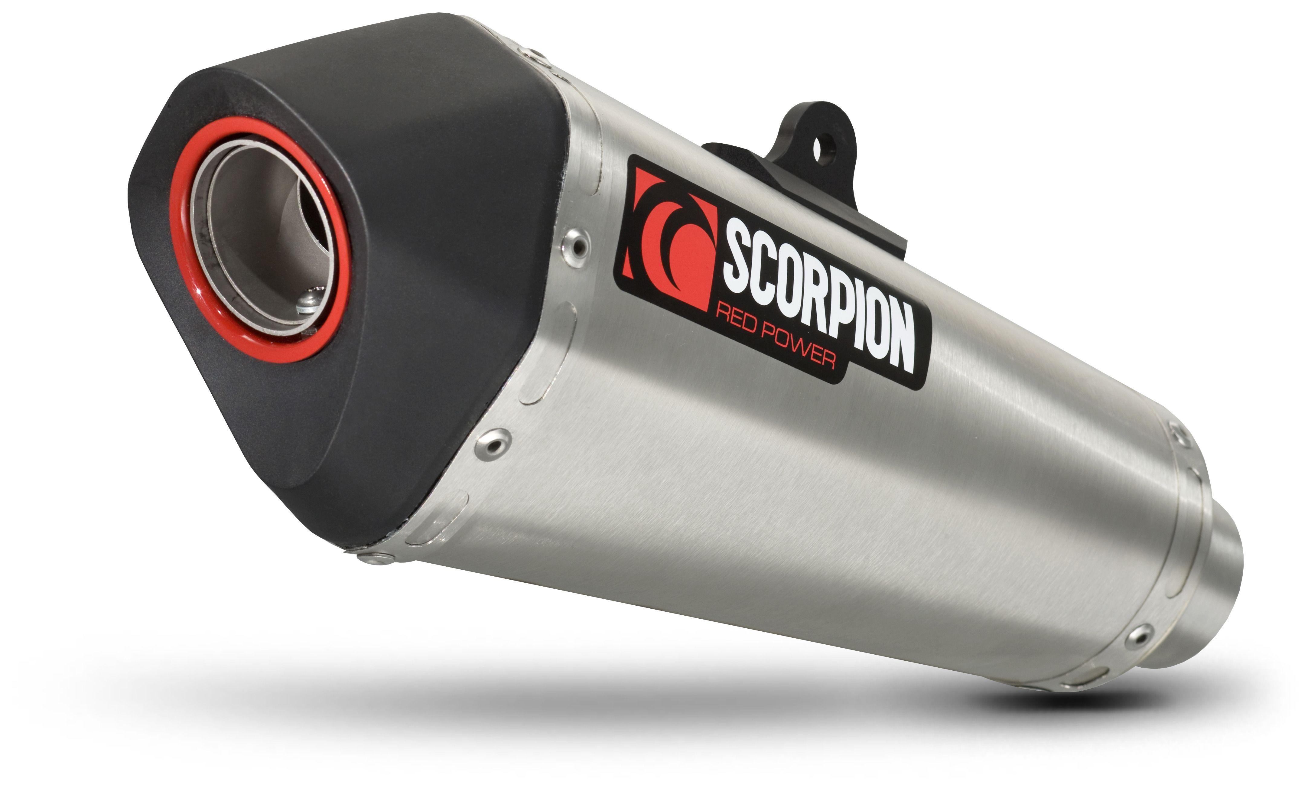 Scorpion Serket Taper Exhaust System Kawasaki Ninja 300 2013-2017