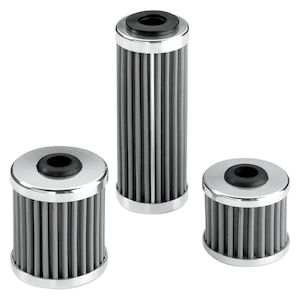 Moose Racing Stainless Steel Oil Filter