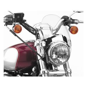 National Cycle Narrow Flyscreen For Harley / Victory / Indian 1957-2020