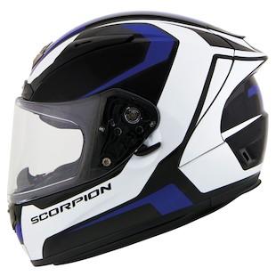 Scorpion EXO-R2000 Dispatch Helmet Blue / XL [Blemished - Very Good]