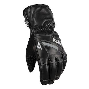 FXR Leather Short Cuff Gloves