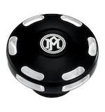 Performance Machine Apex Gas Cap For Harley 1996-2015 Dummy Fuel Cap / Contrast Cut [Open Box]