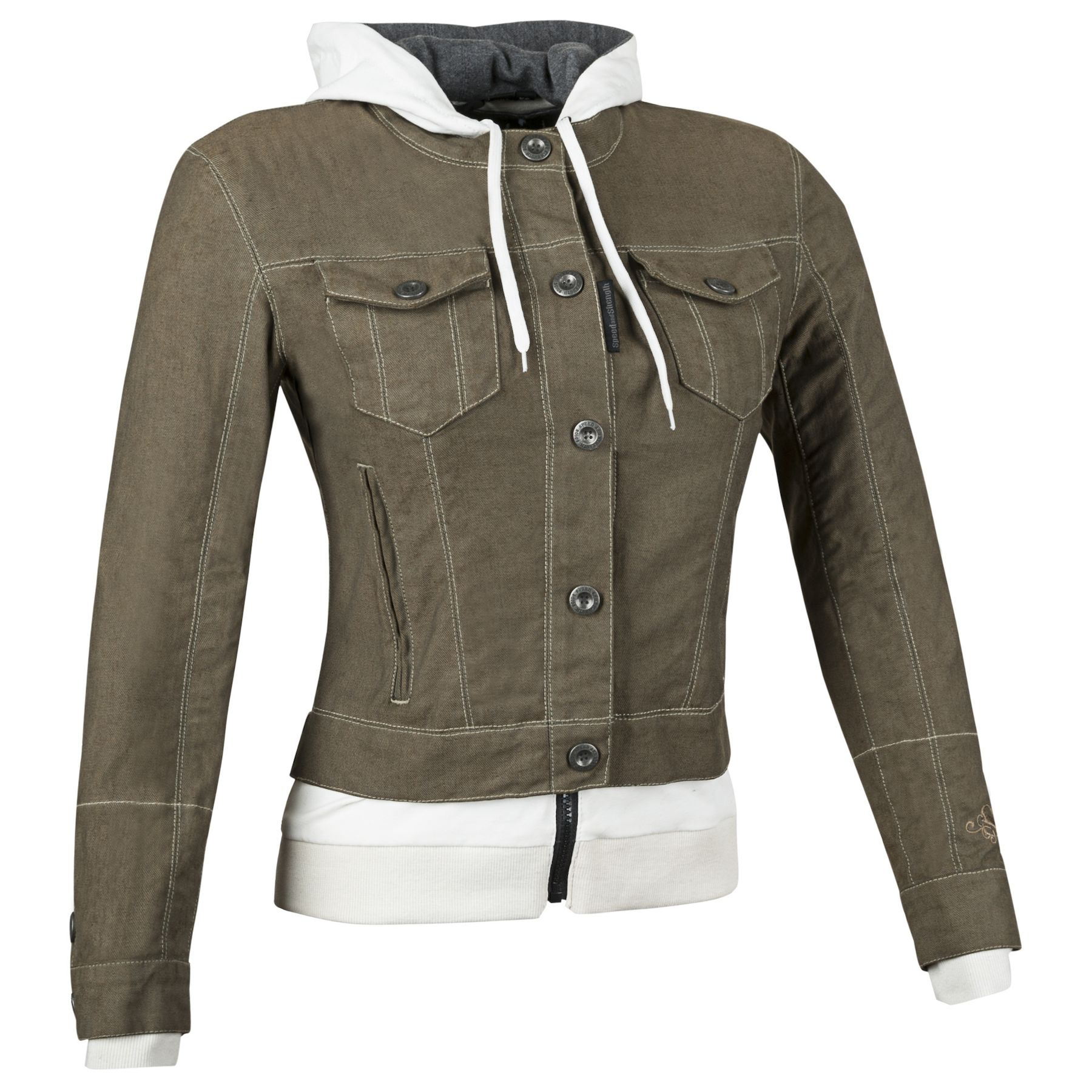 Speed /& Strength Fast Times Womens Denim Jacket