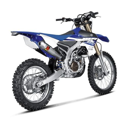 akrapovic slip on exhaust yamaha yz250f yz250fx wr250f 2014 2016 revzilla. Black Bedroom Furniture Sets. Home Design Ideas