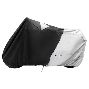 Cover Max High Pipe Sportbike Cover Black/Silver / LG [Previously Installed]