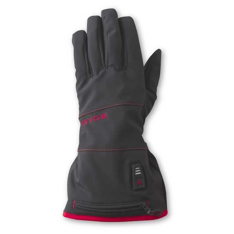 Black Gyde Heated 7.4V Featherweight Womens Gloves Large