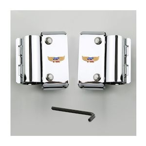 National Cycle Narrow Frame Heavy Duty Windshield Mount Kit For Harley Dyna / Sportster 1970-2020