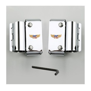 National Cycle Narrow Frame Heavy Duty Windshield Mount Kit For Harley