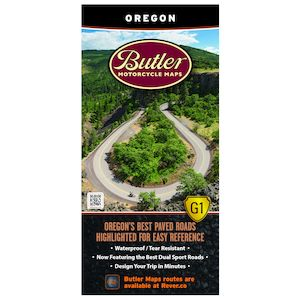 Butler Maps Oregon