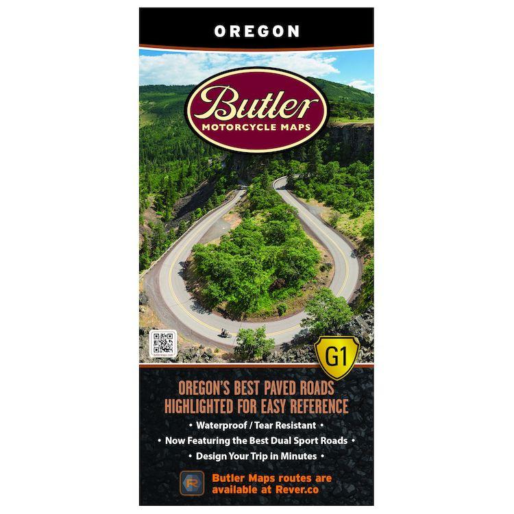 Butler Maps Oregon