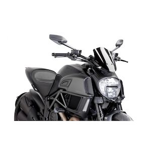 Puig Naked New Generation Windscreen Ducati Diavel 2014-2018