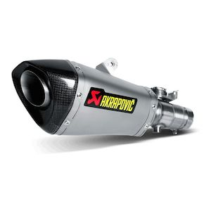 Akrapovic Homologated Slip-On Exhaust