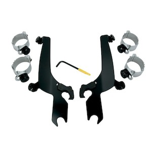 Memphis Shades Sportshield Trigger-Lock Mount Kit For Harley Dyna / Softail 2006-2017