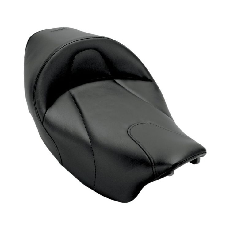 Saddlemen Renegade Deluxe Solo Seat For Harley Touring 1997-2007 Smooth / Solo Seat Without Driver Backrest [Previously Installed]