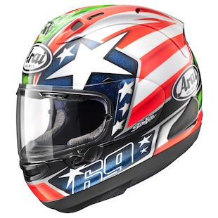 Arai Corsair X Nicky 6 Motorcycle Helmet