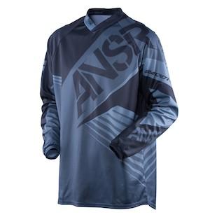 Answer Syncron Jersey (Color: Blackout / Size: LG)
